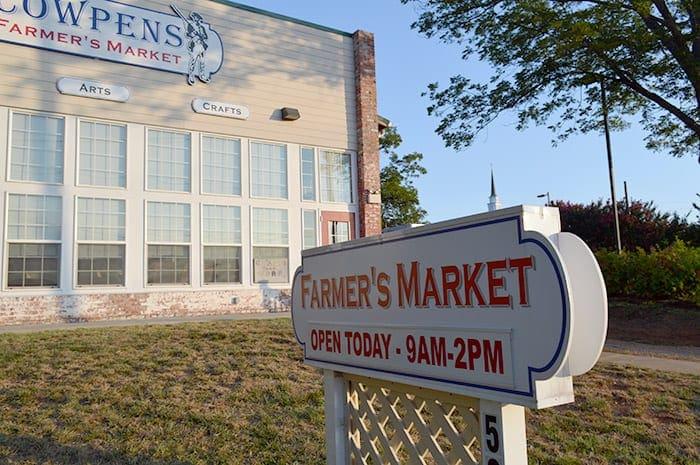 Town of Cowpens SC | Cowpens farmer's market